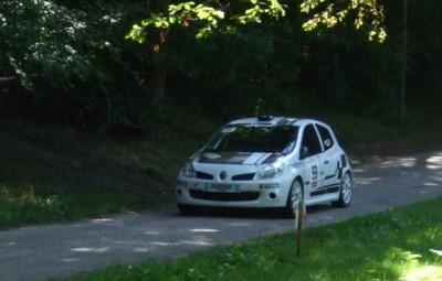 Sébastien Burtin - Mauranne Garcia sur Renault Clio 3