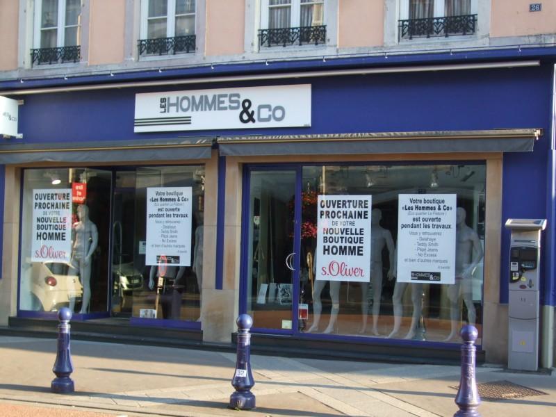 Une boutique dédiée aux hommes au 26 rue Charles De Gaulle