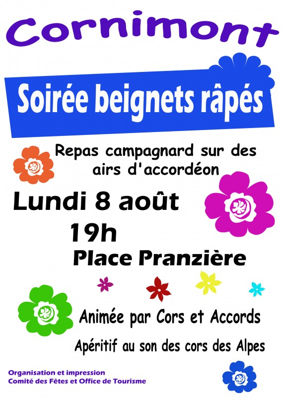 affiche soiréeBeignetsRapés_2016