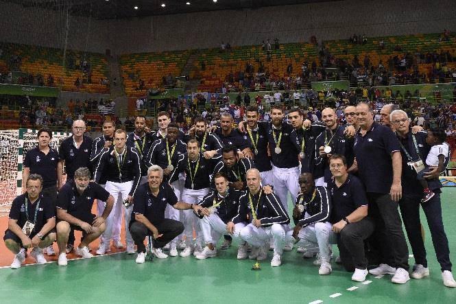 Equipe de France de handball masculin © DPPIEquipe de France de handball masculin © DPPI.
