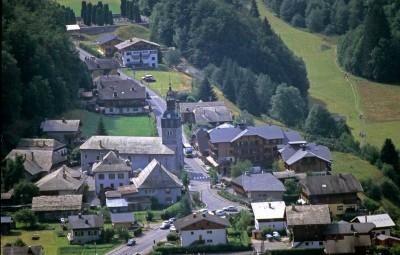Le village de Montriond.