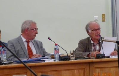 Roger Durupt a livré un réquisitoire sur le fonctionnement de Bernard Godfroy.