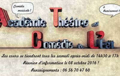 Academie Theatre et Comedie de l-Est -informations-