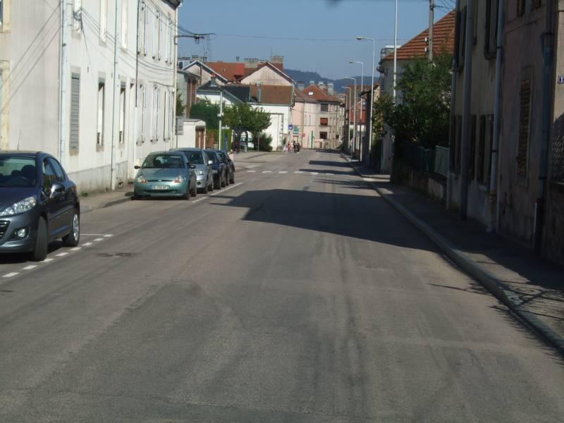 La rue de la Mouline