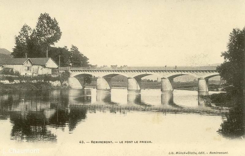 Le Pont le Prieur après 1879