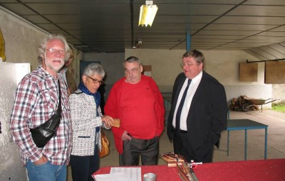 Mr Vannson, Michel, Martine et Jean-François