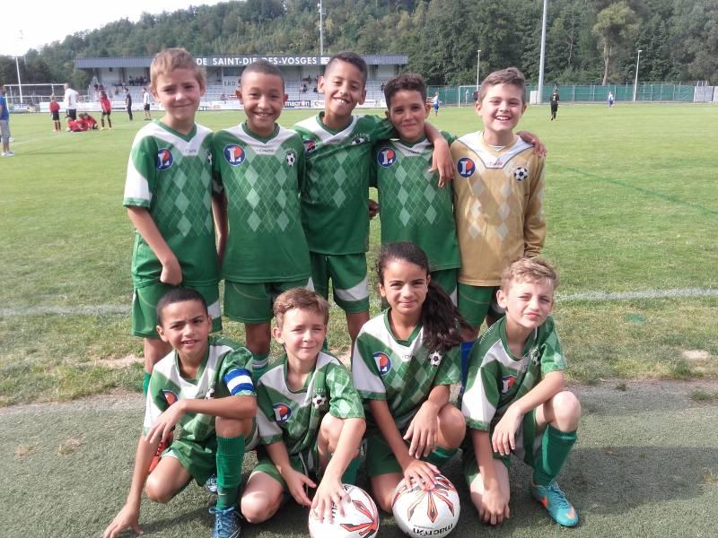 Les U11 étaient en tournoi à Saint-Dié-des-Vosges.