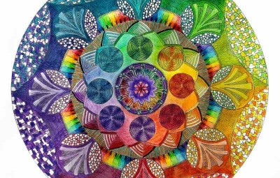 coloriage-imprimer-mandala-dessin-réalisé-couleurs-vives