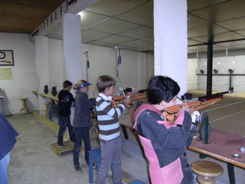 photo rentrée école de tir