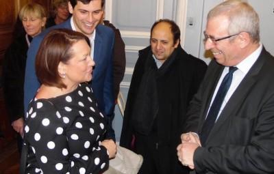 Bernard Godfroy avait réservé le Grand Salon de l'Hôtel de ville à Jean Hingray lorsqu'il avait reçu la député européenne Nathalie Grisbeck le samedi 23 janvier 2016.