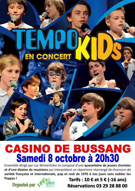 Affiche Tempokids