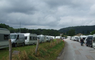 En juillet 2016, les gens du voyage ont pris possession d'un 1er terrain route de Sainte-Anne