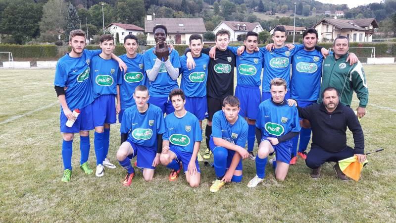 Victoire des U18 en amical contre Le Val-d'Ajol.