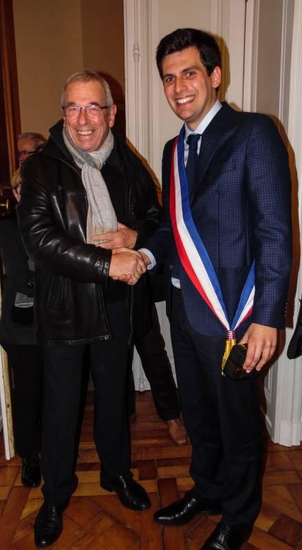 Bernard Godfroy a salué son successeur.
