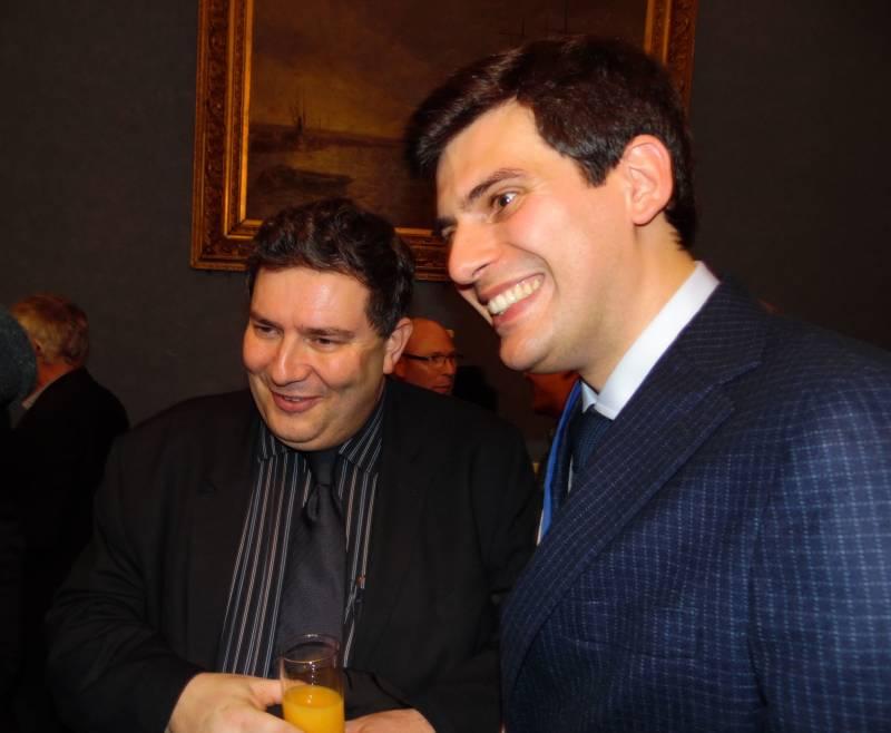 Jean Hingray a reçu les félicitations de Dominique Peduzzi.