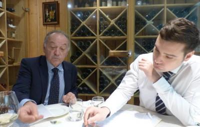 Claude et Pierre Remy.