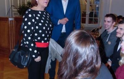 Jean Hingray ici avec Nathalie Griesbeck.