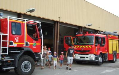 Portes ouvertes au centre de secours et d'incendie