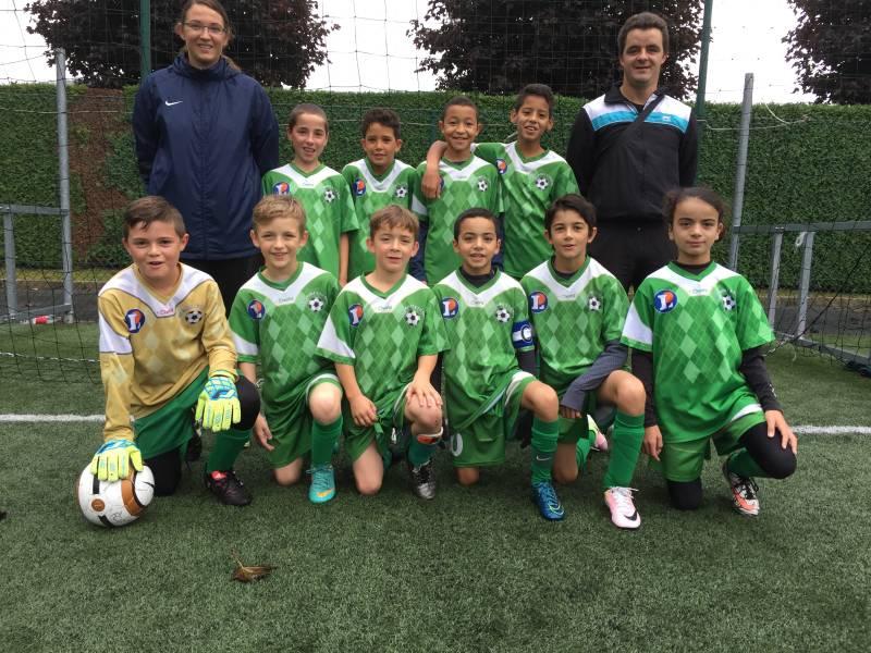 Opportunistes, les U11 Excellence ont dominé Neufchâteau-Liffol-le-Grand 3 buts à 0.