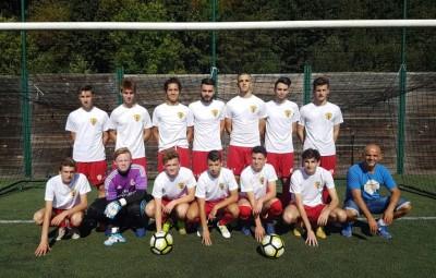 Photo légende: Belle victoire 6 buts à 2 pour les U19 en Coupe de Lorraine face à Eloyes.