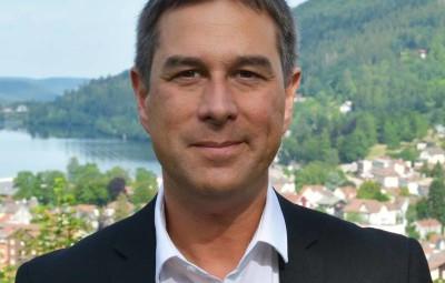 Stessy Speissmann, le maire de Gérardmer.