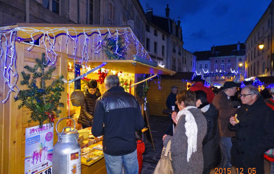 Marché de Noël à Remiremont (archives JCO - 2015)