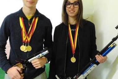 Pierre-François  et Laura 10m régionaux 2016