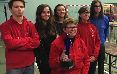 équipe carabine adulte championne des clubs Vosges 2017