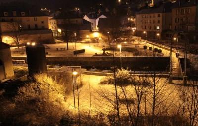 A Cornimont ce lundi soir (Photographie Claude Noël).