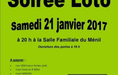 affiche verte loto classe 2019