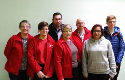 équipe pistolière Ch. des clubs Volmerange février 2017