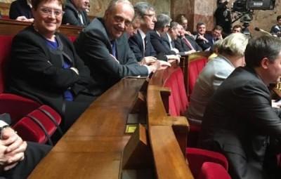 Michel Heinrich a posté une photo de sa dernière séance sur Facebook.