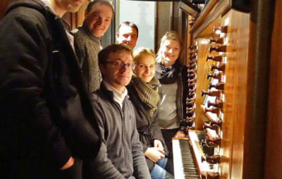 22 Prof et eleves organistes
