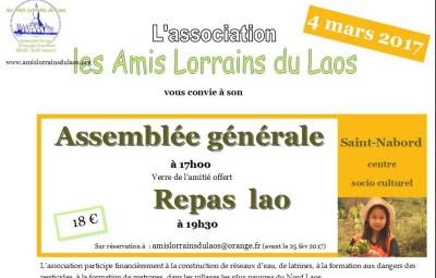 Affiche AG et repas Lao du 4-03-17