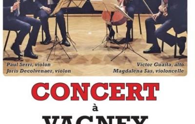 affiche concert quartet