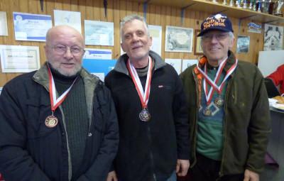 emps, Régis Hannen et Alain Hossan , médaillés au minié 2017