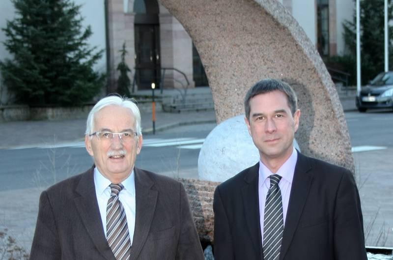 Jean-Paul Lambert et Stessy Speissmann.