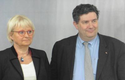 Véronique Mathieu et Dominique Peduzzi.