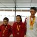 Thomas, Lou et Géo médaillés EDT mai 2017