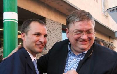 François Vannson a longuement félicité Christophe Naegelen.