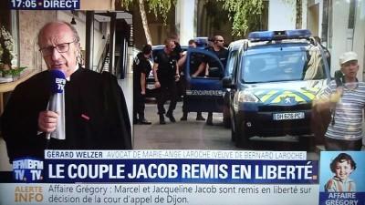 Témoignage de Gérard Welzer sur BFM TV (capture d'écran).