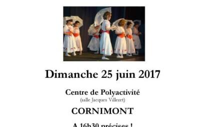 Affiche gala danse 25 06 17