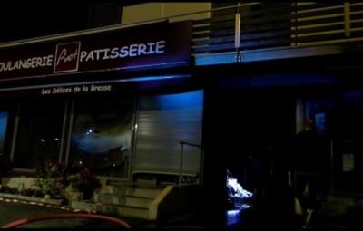 Incendie Boulangerie Pinot La Bresse