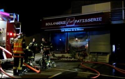 Incendie Boulangerie Pinot La Bresse 8