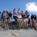Une partie du groupe au Grand Aréa 2869 m