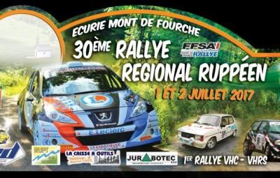 30ème Rallye Régional Réuppéen