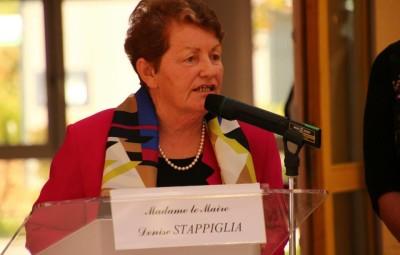 Denise Stappiglia, le maire  de Saulxures-sur-Moselotte. Photographie d'archives.