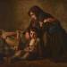 Alexandre Antigna, La mort du pauvre ou La veuve, 1849, huile sur toile. Musée Charles de Bruyères,  Remiremont. Crédit photographique : Jack Varlet/Musée Charles de Bruyères, Remiremont.