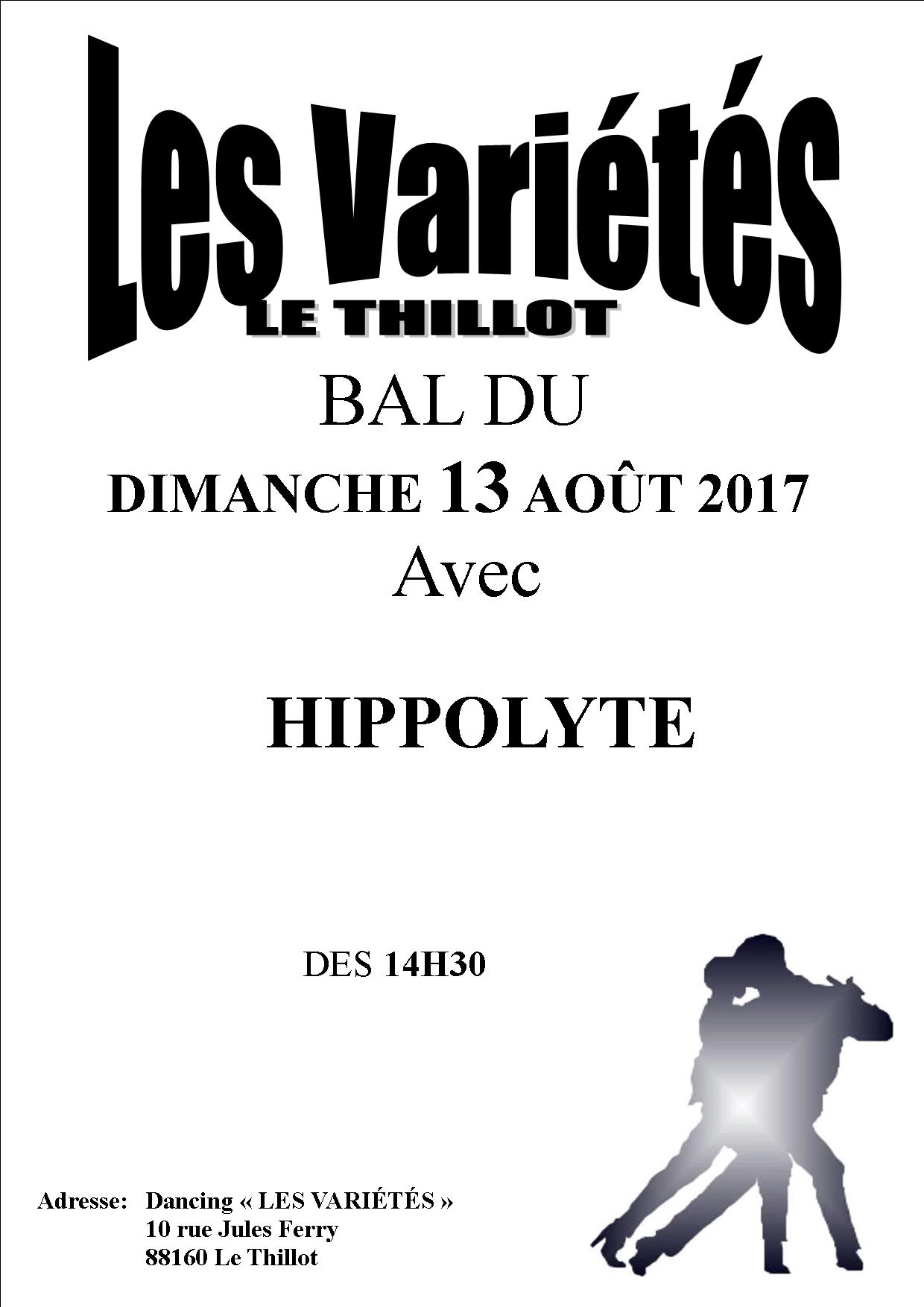 HIPPOLYTE 13 AOUT 2017