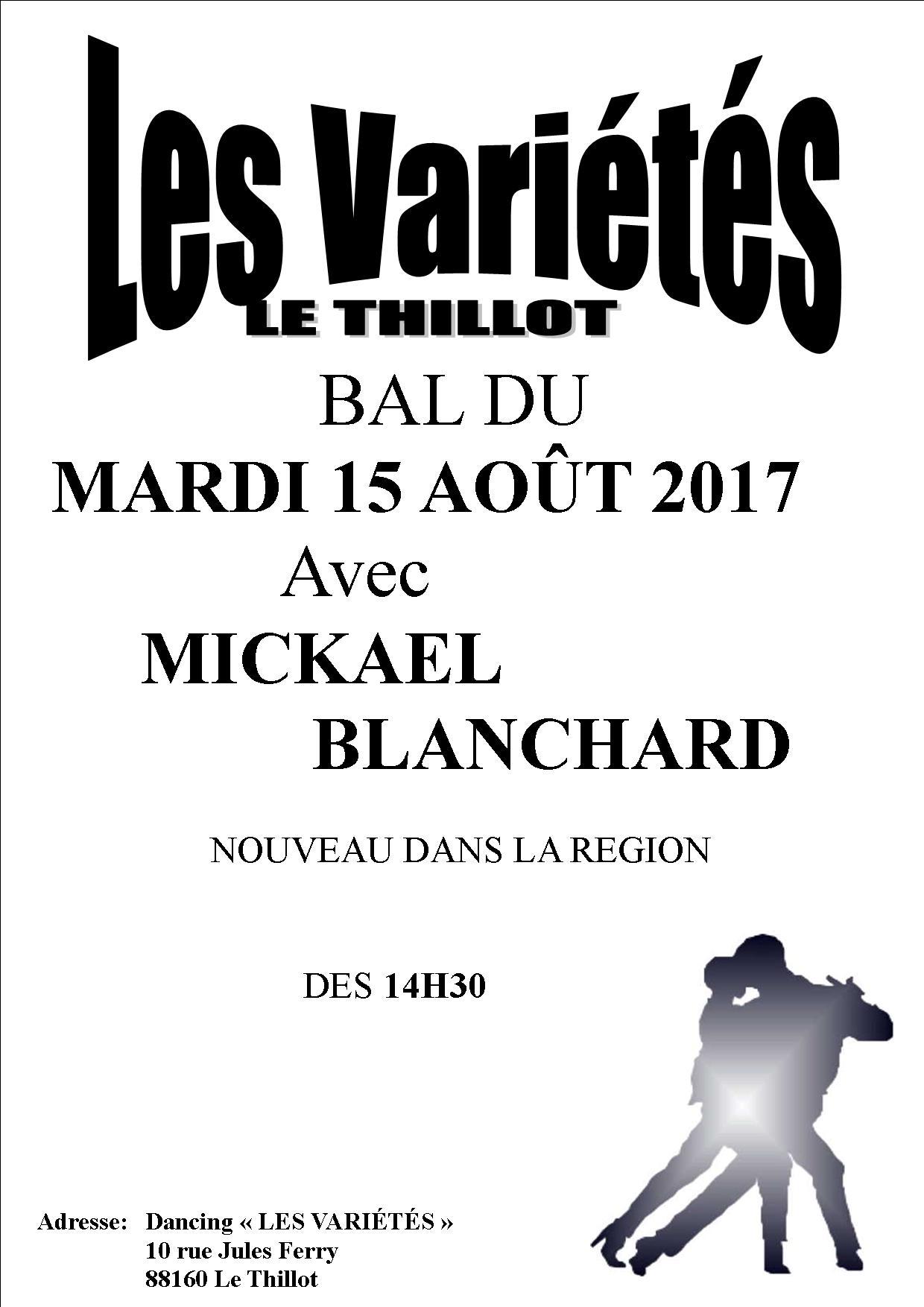 MICKAEL BLANCHARD 15 AOUT 2017